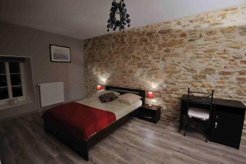 Les Chambres d'Eponine : Bed and Breakfast near Chaudenay