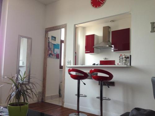 L'appart de la Rotonde : Guest accommodation near Lavault-Sainte-Anne