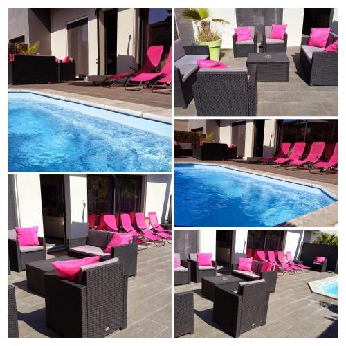 Maison 3 chambres avec piscine : Guest accommodation near Agde