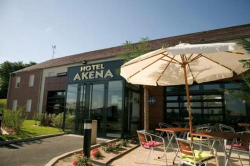 Hotel Akena City : Hotel near Montgobert