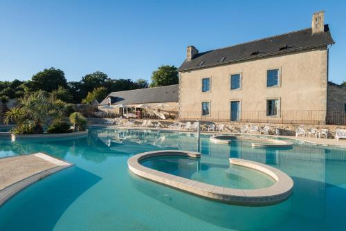 Camping de l'Orangerie de Lanniron : Guest accommodation near Quimper