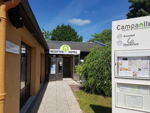 Campanile Alençon : Hotel near Larré