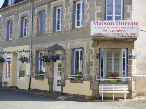 Maison Durran : Bed and Breakfast near Chaillac