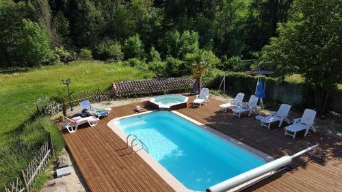 Auberge de Barnas : Hotel near Cellier-du-Luc