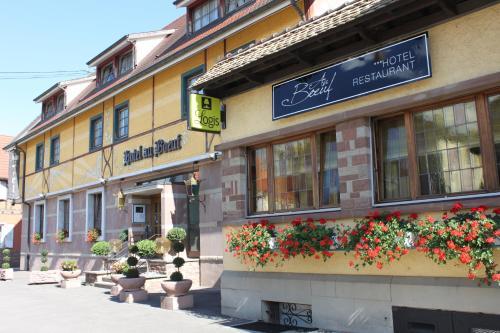 Hôtel Restaurant Au Boeuf : Hotel near Erstein