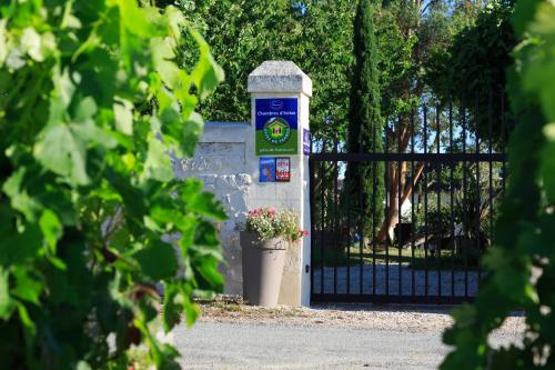 Le Coeur des Vignes : Bed and Breakfast near Cars