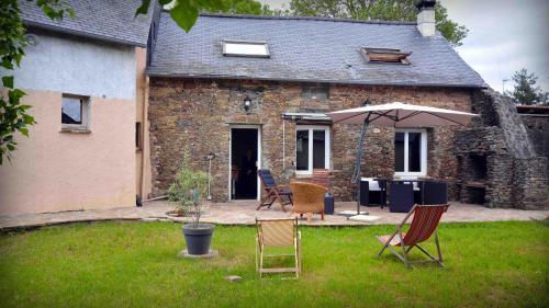 Les Petites Mazures : Guest accommodation near Trans-sur-Erdre