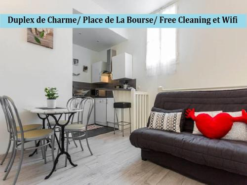 Duplex charme, Place de La Bourse : Apartment near Bordeaux