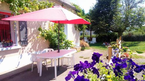 la milvue : Bed and Breakfast near Caharet