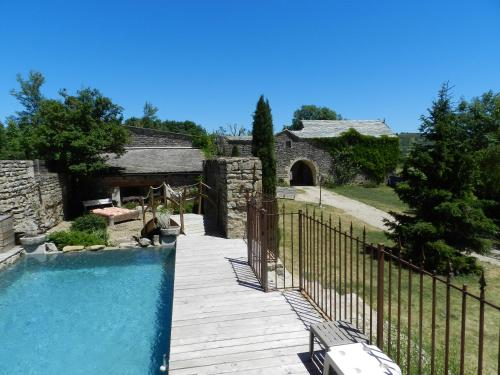 Le Clos Des Lavandes : Bed and Breakfast near La Canourgue
