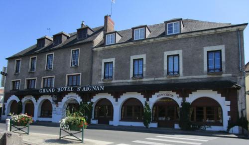 Grand Hôtel Saint-Aignan : Hotel near Faverolles