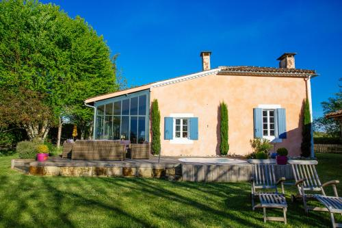 Le Sorbet : Bed and Breakfast near Labescau