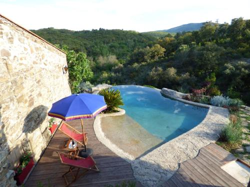 Mas de la Fariole : Guest accommodation near Prunet-et-Belpuig
