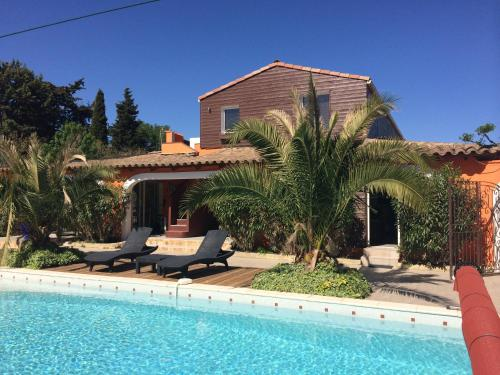 Gites Le Patio34 : Guest accommodation near Saussan