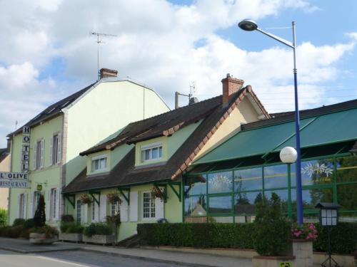 auberge de l'olive : Hotel near Châtelperron