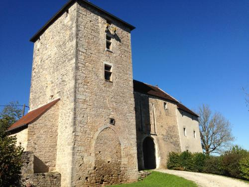 Guesthouse Chateau Cordiron : Guest accommodation near Dannemarie-sur-Crète