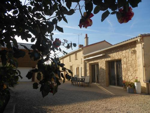 charmante maison a la campagne : Guest accommodation near Luzay