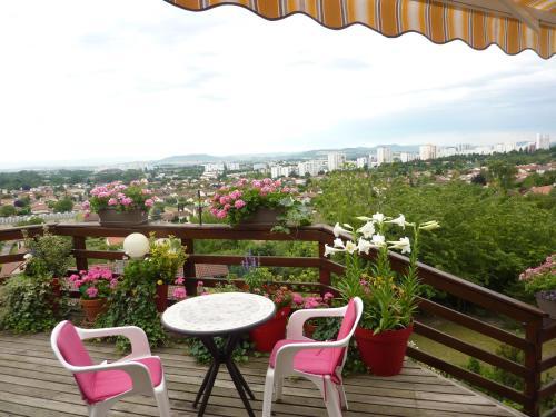 Joli petit Appart sur les Côtes de Cébazat/Clermont Ferrand : Apartment near Blanzat