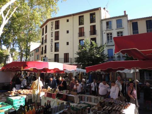 Hotel des Arcades : Hotel near Llauro