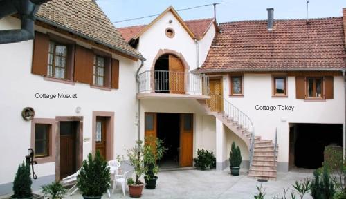 Gîtes Le Tokay et Le Muscat : Guest accommodation near Sermersheim