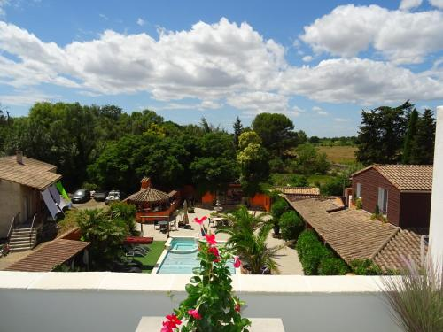 Les Terrasses : Apartment near Saussan