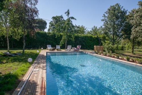 L'annexe de Gerald : Guest accommodation near Lamothe-Montravel
