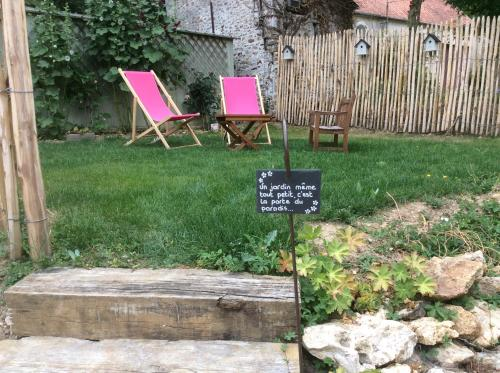Le Figuier : Guest accommodation near Courtacon