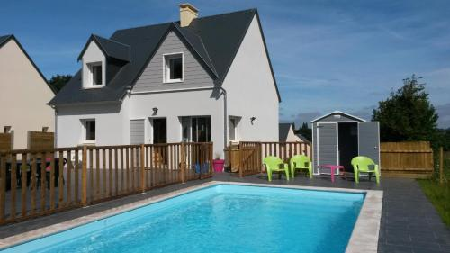 Fourchie : Guest accommodation near Saint-Aubin-des-Préaux