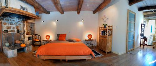 La Meliere : Bed and Breakfast near Saint-Beauzély