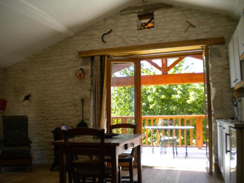 Au col de Cygne : Apartment near Bazauges