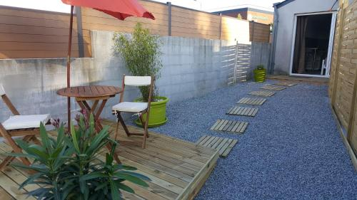 Studio aux portes de Fouesnant : Guest accommodation near Pleuven