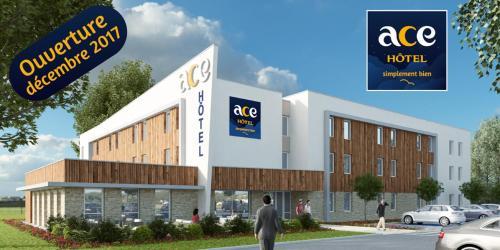 Ace Hotel Bordeaux Cestas : Hotel near Marcheprime