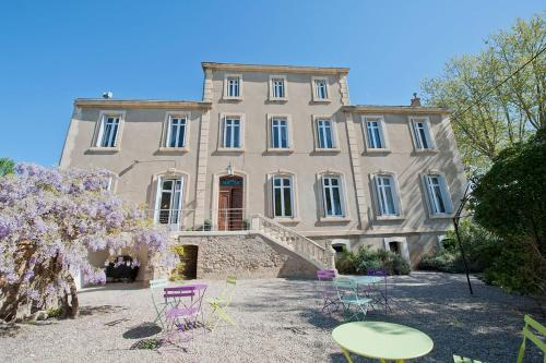 LE MANOIR DE CANET D'AUDE : Guest accommodation near Saint-Nazaire-d'Aude