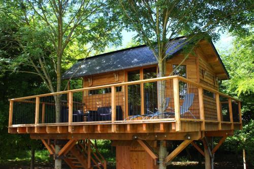 La Cabane des Marées : Guest accommodation near Banneville-la-Campagne