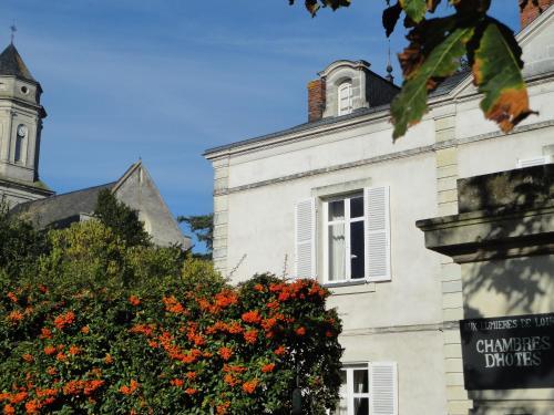 Aux Lumières de Loire : Guest accommodation near Saint-Laurent-du-Mottay