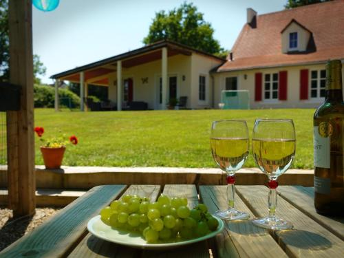 Maison le Bip en France : Guest accommodation near Vigoux
