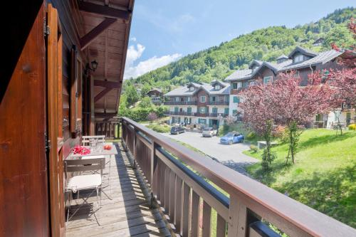 St. Gervais - Le Bois des Fées 24 : Apartment near Passy