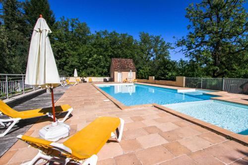 Domaine Les Falaises : Hotel near Carennac