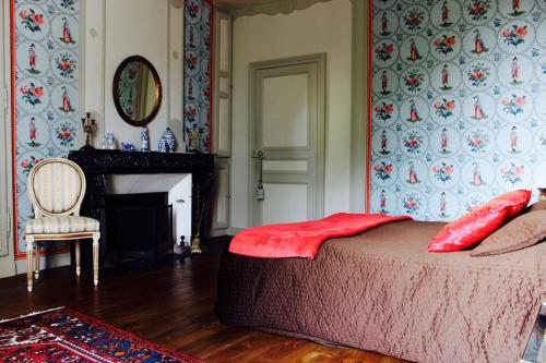 Le Domaine de Cordey : Bed and Breakfast near Vieux-Pont