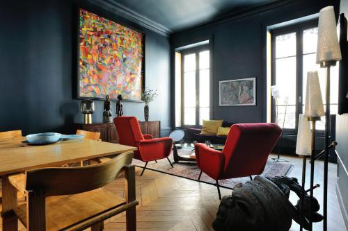 Blue Dream : Apartment near Lyon 1er Arrondissement