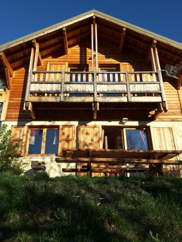 Chalet La Rua : Guest accommodation near Saint-Crépin