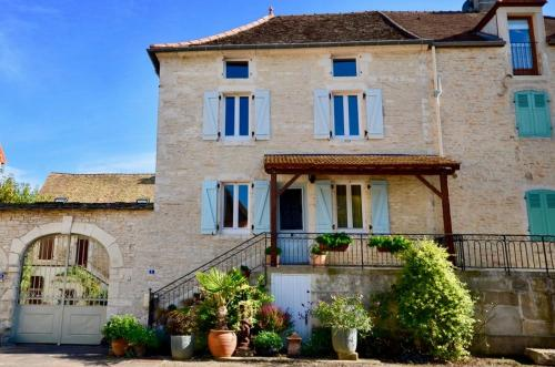 Puligny House : Guest accommodation near Cussy-la-Colonne