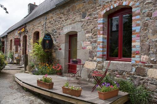 Les gîtes Ti Diliamm : Guest accommodation near Trézény