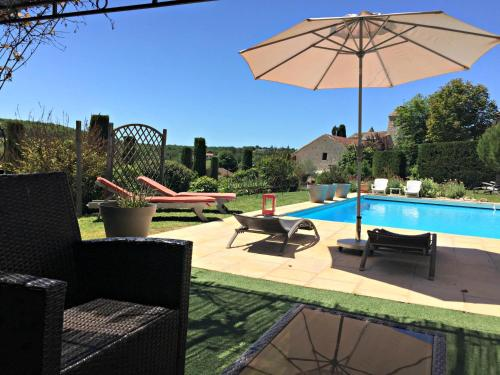 Domaine Cote Granges : Guest accommodation near Sainte-Alauzie