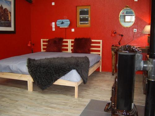 Studio Smoky Hill private&romantic : Bed and Breakfast near Rentières