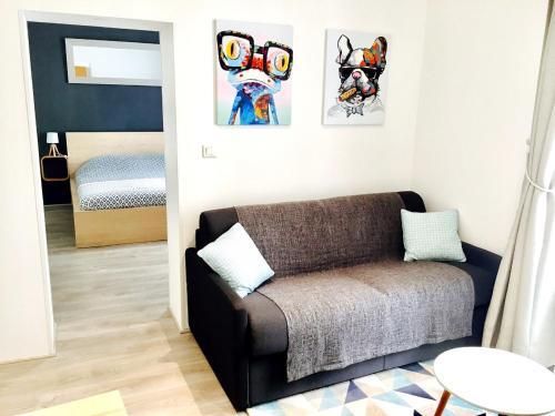 Appartement centre, Parking 100m : Apartment near Nantes