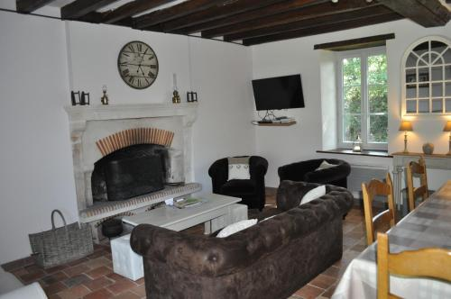 Le Jardin des Guignés : Guest accommodation near Auvers-le-Hamon