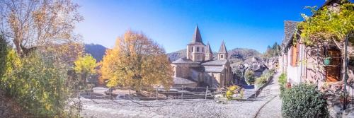 Le Compostelle de Conques : Apartment near Saint-Parthem