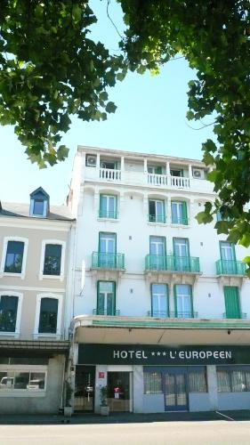 Hôtel L'Européen : Hotel near Andrest