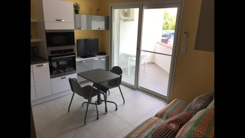 Appartement en bord de Mer : Apartment near Saintes-Maries-de-la-Mer